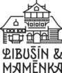 Libusin a mamenka logo s kresbou